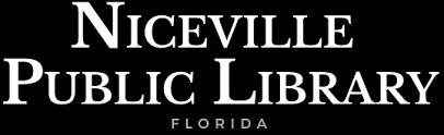 Find out more about Niceville%20Public%20Library: Library website, hours, locations, catalog, Inter-Library Loan, Genealogy Information, etc